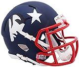 New England Patriots Riddell NFL AMP - Casco (tamaño pequeño)
