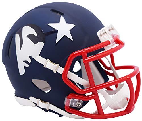 New England Patriots Riddell NFL AMP Mini Helm Groß