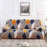 GIVO Fundas de sofá elásticas seccionales para sofá para Sala de Estar Funda de sofá en Forma de L Funda de sillón 1/2/3/4 plazas, A, Funda de Almohada 45x45cm