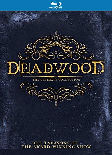 Deadwood - Intégrale de la série - Edition Blu-ray - Saison 1 + 2 + 3 - Import avec langue française