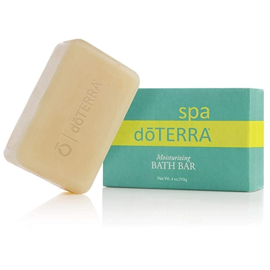 始まり険しい退屈なdoTERRA SPA Moisturizing Bath Bar Soap 113g X 1ea