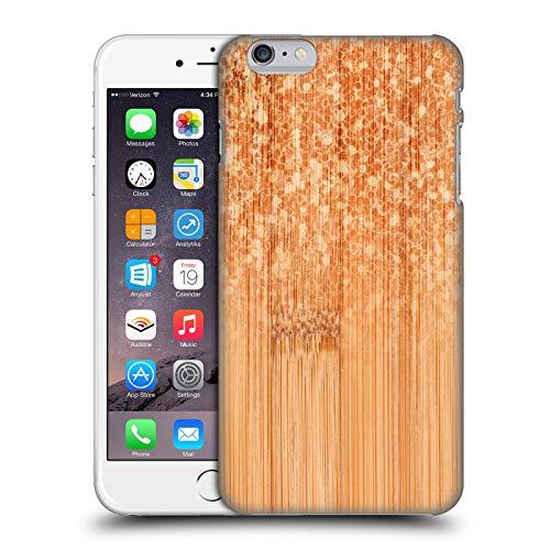 Head Case Designs Licenza Ufficiale PLdesign Naturale Bamboo Scintillante Cover Dura per Parte Posteriore Compatibile con Apple iPhone 6 Plus/iPhone 6s Plus
