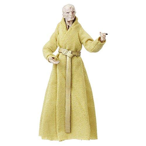 Star Wars Hasbro – C1418 The Black Series – Supreme Leader Snoke – 15cm Action Figur, Sehr detailliert und mit beweglichen Gelenken