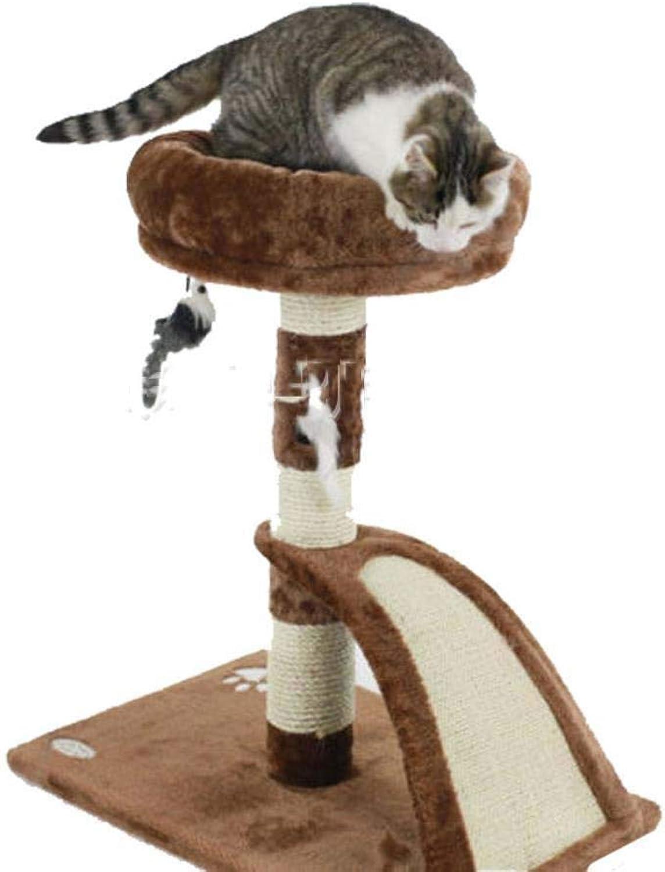 Weiwei Cat Tree Climbing cat rack cat Trees Cat Scratch Board 35cm * 35cm * 55cm