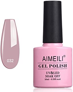 Aimeili Soak Off Uv Led Gel Nail Polish - Eur So Chic (032) 10Ml