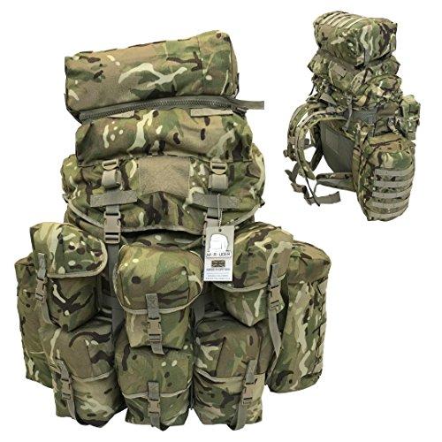 Marauder Field Air Support Bergen + 3 poches latérales Marauder MTP (voir description) – Fabriqué au Royaume-Uni