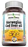 Best Cod Liver Oil Capsules - Amazing Omega Norwegian Cod Liver Oil - 1000 Review