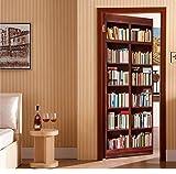 Wandtattoos Wandbildermoderne Bibliothek Tür Wandbild