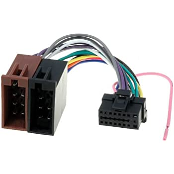 [DVZP_7254]   Amazon.com: Alpine 16 Pin to ISO Lead Wiring Loom Power Adaptor Wire Radio  Connector Harness | Alpine Radio Wiring |  | Amazon.com