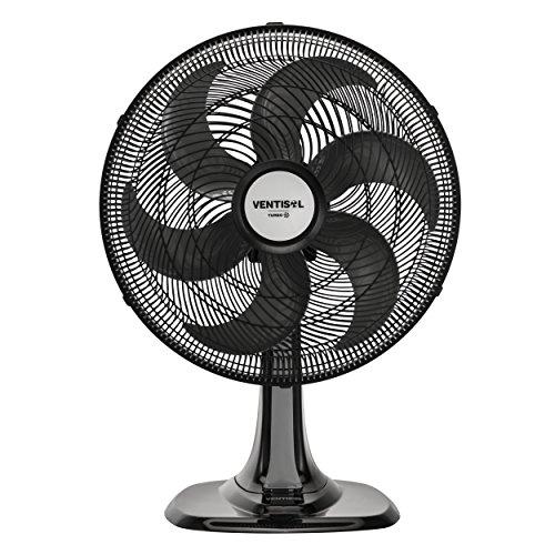 Ventilador de Mesa Oscilante, Turbo 6 Pás Premium, Preto, 40cm, 220v, Ventisol