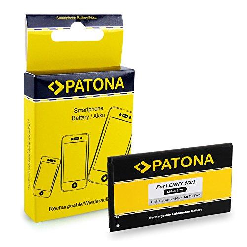 PATONA Bateria 5030 Compatible con Wiko Lenny, Lenny 2, Lenny 3