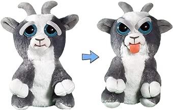 Colgador de mochila Feisty Pets Mini Karl the Snarl Polar Bear gru/ñe con un apret/ón