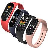 Pulsera M5 Smart Band, IP67 Reloj inteligente a prueba de agua Presión arterial / Monitor de...