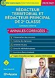 Rédacteur territorial - Rédacteur principal de 2e classe - concours externe