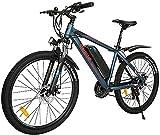 Bicicleta electrica Eleglide M1, Bicicleta de montaña, Bicicleta Adulto de 26', Bicicletas electrico 250 W, e Bike MTB batería 7,5 Ah, Shimano transmisión - 21 velocidades