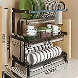 Deniseonuk Creative Kitchen Rack Sink Drain Rack Stainless Steel Folding Storage Rack Stainless Steel Drain Rack