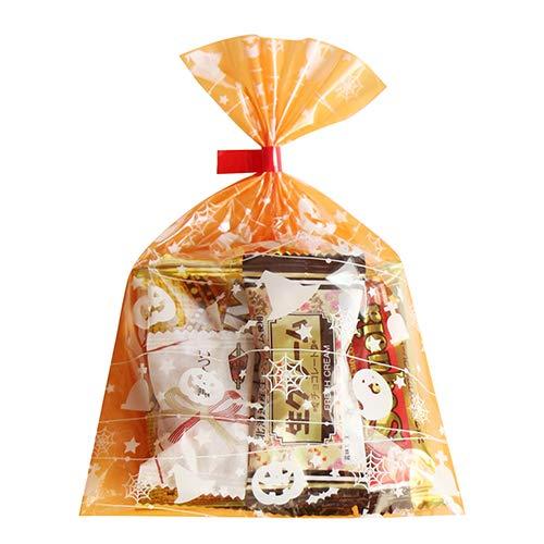 ハロウィン袋 6袋 お菓子 詰め合わせ((Lセット) 駄菓子 袋詰め おかしのマーチ