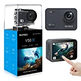 AKASO V50X Native 4K30fps WiFi Action Camera with EIS Touch Screen 4X Zoom