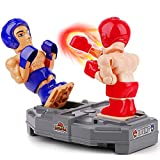 iPlay, iLearn Electronic Punching Boxing Game Toy, Cool Battle Board Game, RC Fighting Robots W/ Sounds, Hand Operated Sports Playset, Indoor Birthday Gifts for 4 5 6 7 8-12 Year Old Boys Kid Child