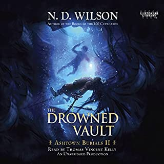 The Drowned Vault audiobook cover art