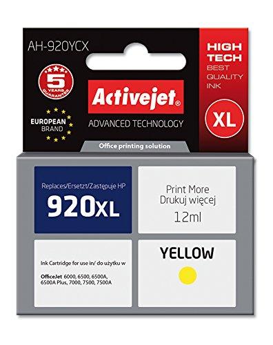 ActiveJet AH-920YCX Refill (geeignet für HP Nummer 920XL) gelb