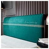 Funda de Cabecero,Protector de Funda de Cabecera de Cama, extensible,Colcha antipolvo protección del cabecero de la cama,jacquard, decoración de dormitorio 120/150/180/200/220 cm(Color:A,Size:1.5m(F