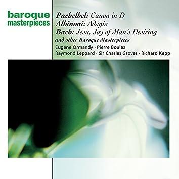 Pachelbel: Canon; Albinoni: Adagio; Bach: Jesu, Joy of Man's Desiring; more