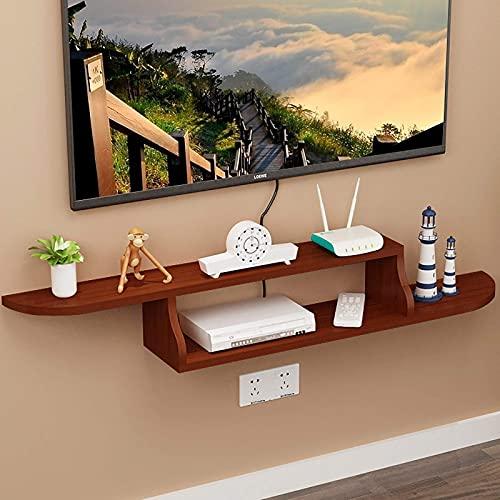 TV Cabinet, TV Lowboard, Flytande hyllor, Väggmonterad TV Media Console, 120cm Många färger är tillgängliga, spara golvyta lätt att rengöra, flytande TV-stativ väggmonterad. (Color : B)