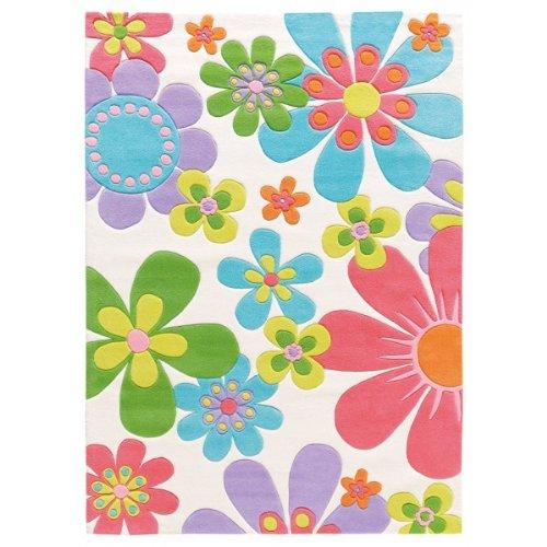 Splash Blumen Kinderteppich arte espina 4200-10, Größe:70*140cm