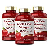 Apple Cider Vinegar 1800mg | 540 Capsules | High Strength Keto Friendly Formula | Non GMO, Gluten Free & Vegan | by Horbaach