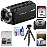 Panasonic HC-V180 HD Video Camera Camcorder with 32GB Card + Case +...