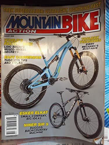MOUNTAIN BIKE ACTION Magazine August 2020