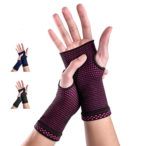 New Technology Breathable and Sweat-Absorbing Fabric Medical Compression Wrist Brace Sleeves