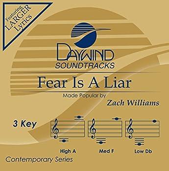 Fear Is A Liar [Accompaniment/Performance Track]