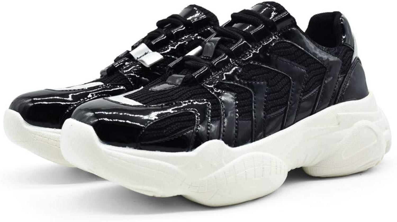ZHIJINLI Plattformar med tillfälliga skor, flygande maskor, chockabsorption, chockabsorption, chockabsorption, löparskor, 6 STORLEK  köp bäst