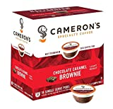 Cameron's Coffee Single Serve Pods, Flavored, Chocolate Caramel Brownie, 18 Count (Pack of 1)
