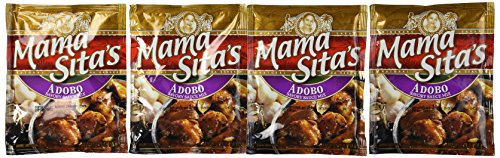 Mama Sita's Adobo Mix Pack of Four 1.76 Oz Per Pack