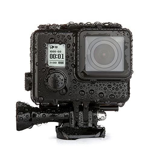 XIN CX Ajuste para la Caja de la Carcasa Impermeable de GoPro Blackout GOPRO Hero 4 3+ Housing subacuático de 35 m bajo el Estuche de Buceo con Agua GO Pro Pro Accesorios