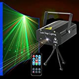 Party lights Strobe Stage Lights Disco DJ Lights Sound Activated with Remote Control Projection Effect for Karaoke KTV Club Parties Wedding Bar Festivals Stage Birthday Dancing Christmas
