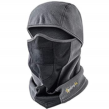AstroAI Balaclava Ski Mask for Cold Weather Windproof Breathable Face Mask for Men Women Riding Motorcycle & Snowboarding Skiing Gray