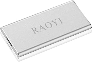 RAOYI 500GB Portable External SSD, Ultra Slim Solid State USB 3.0 Hard Drive SSD High Speed Write/Read up to 300/400 MB/s ...