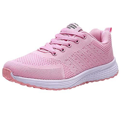 MRULIC Frauen Fliegen Weben Socken Schuhe Turnschuhe Freizeitschuhe Student Laufschuhe Bequem und Atmungsaktiv