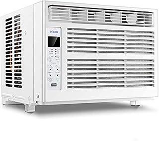 Aire acondicionado de ventana (refrigeración, deshumidificación, función de ventilador) Unidad con control remoto, 3 velocidades de ventilador, modo de reposo, temporizador, pantalla digital