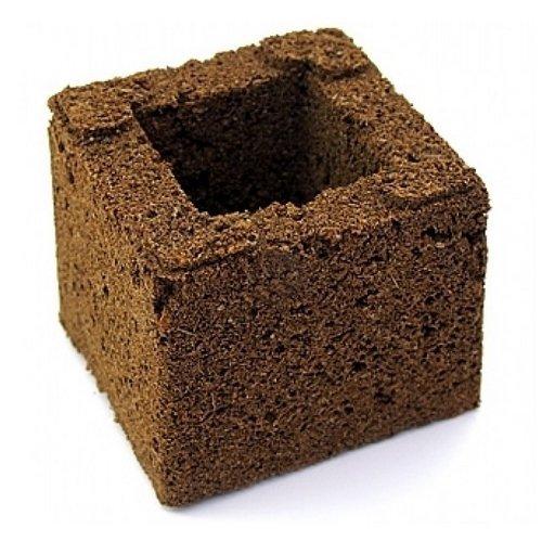 1x Motte/Bloc pour la germination Eazy Gardening Block - 7,5x7,5x6cm (1x)