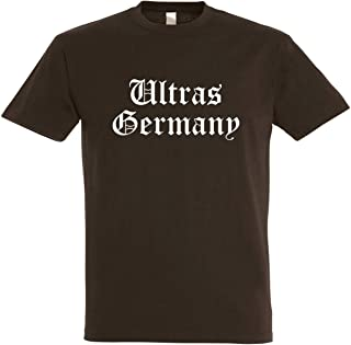 Herren T-Shirt Ultras Germany S bis 5XL