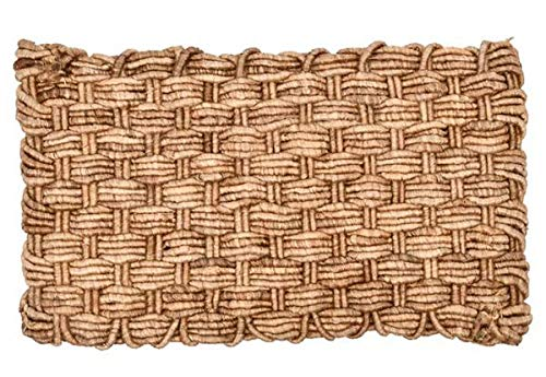 Deurmat dutch weave viervoud jute