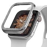 Ringke Bezel Styling Compatibile con Cover Apple Watch 40mm Serie 6/5 / 4 / SE Custodia Acciaio Inossidabile Unico ed Elegante per Apple Watch 6/5 / 4 / SE (40mm) - 40-42