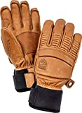 Hestra Mens Ski Gloves: Fall Line Winter Cold Weather Leather Gloves, Cork, 8