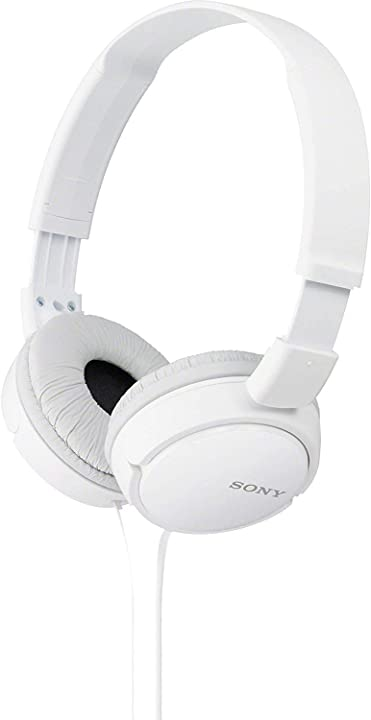 Cuffie on-ear sony mdr-zx110 - , bianco