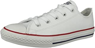 Chuck Taylor All Star Leather Ox Kids Trainer White